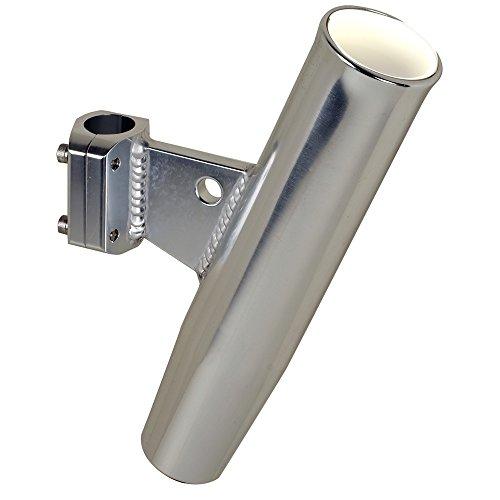 Polished Aluminum Rod Racks (C.E. Smith Aluminum Clamp-On Rod Holder Vertical Clamp fits 1.05