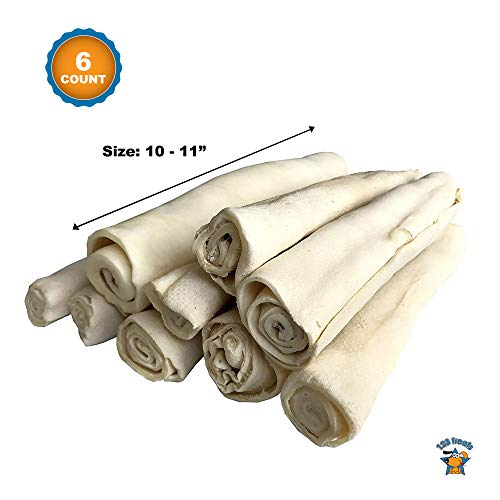Thick Rawhide Retriever Roll Bulk - 6 Count | 10-11