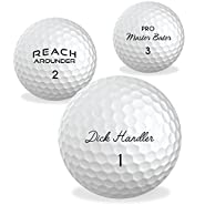 O'Rinn Ultimate Glory Prank Golf Balls - Sleeve, 3 Novelty Golf Balls. Perfect for Bachelor Parties, White Elephant Gifts, or just to Add Extra Fun to your Game!