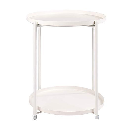 Mesas de Centro Iron Art Tea Table, Double Layer Desmontable ...