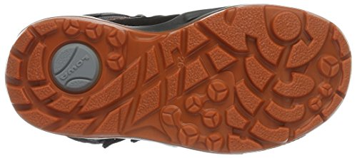 Black Orange GTX black Milo Boots Rise Kids' Lowa Hiking Schwarz Orange Unisex Hi High RqzFxF