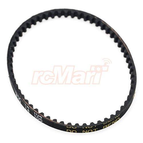 Yeah Racing Rear Urethane Belt 4mm S3M174 For HPI Sprint 2#SPT2-017