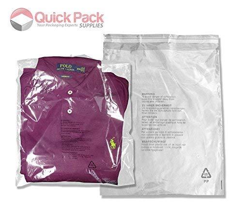 6 opinioni per Sacchetti di polietilene trasparente per abiti e vestiti, confezione da 100