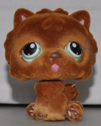 chow-chow-332-brown-fuzzy-littlest-pet-shop-retired-collector-toy-lps-collectible-replacement-single