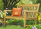 WholesaleTeak New Grade A Teak Wood Luxurious Outdoor Garden 4 Feet Bench -Furniture Only -Sam Collection #WHBHMS4 For Sale