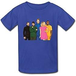 Kid's Pentatonix World Tour 2016 Soft T-shirt RoyalBlue