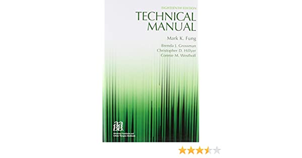 aabb technical manual 18th edition pdf download