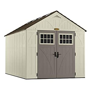 Suncast BMS8130 Premium Extra Large Resin Shed 8ft x 13ft