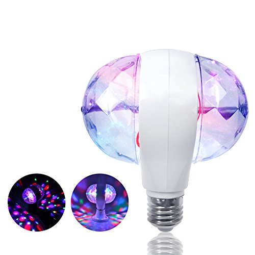 Led Full Color 360 Rotating Spot Light Lamp in Florida - 2