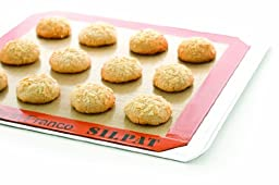 Silpat 11-5/8'' x 16-1/2'' Non-Stick Silicone Baking Mat