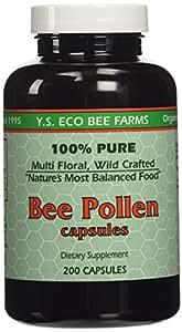 Amazon.com: Y.S. ECO Bee Farms 100% Pure Bee Pollen 1