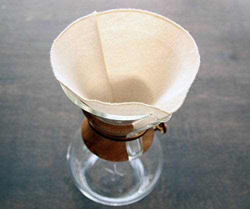 6 unbleached coffee filters - 7
