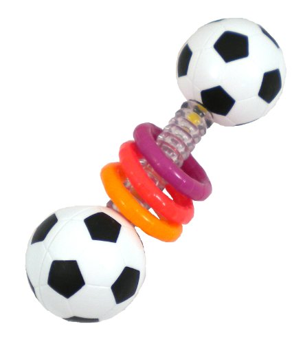 Sassy Mini Sports Rattle Developmental Toy