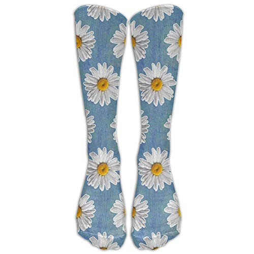 Unisex Small Daisy FloralCrazy Color Fashion Fun Cute Novelty Funny Socks Stockings for Boy's Girl's Women Men