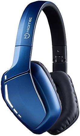 Auriculares Bluetooth Cool | Cascos Bluetooth Azul para PC, Smartphone, Videojuegos | Cable de Jack 3,5mm Reforzado y Micrófono | Sonido Envolvente | Producto Español | Auricular de Diadema