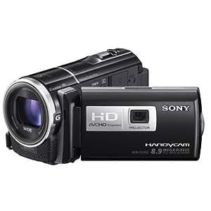 Sony HDRPJ260VE - Videocámara HD Flash (pantalla de 3 pulgadas), con proyector incorporado