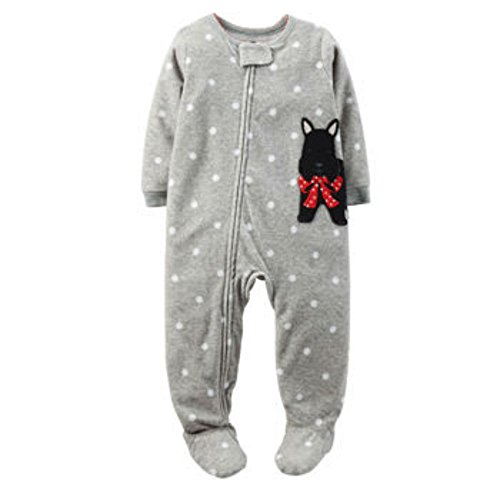 Carters Boys Blanket Sleeper (4T, Scottie Dog and Dots) ()