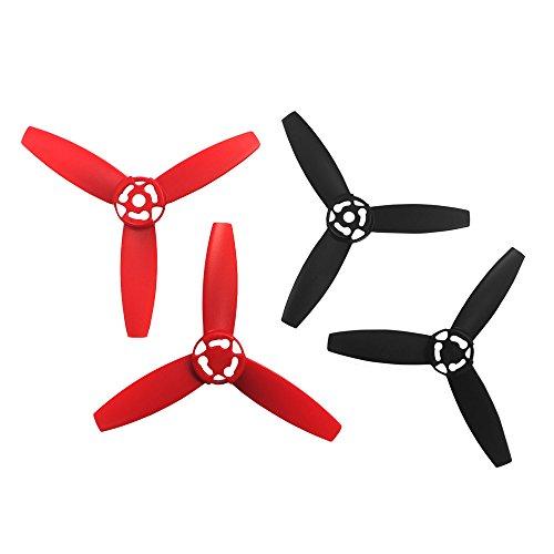 Parrot Bebop Drone Propellers, Red
