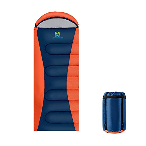 Moon Lence Adult Sleeping Bag for Women and Men Lightweight Compact Camping Suit Portable 4-Season Outdoor Sleeping Gear for Hiking Traveling