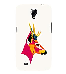 EPICCASE Artistic deer Mobile Back Case Cover For Samsung Galaxy Mega 6.3 I 9200 (Designer Case)