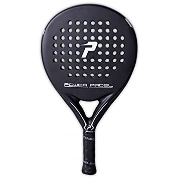 POWER PADEL Black Mate - Palas de pádel: Amazon.es: Deportes y aire libre