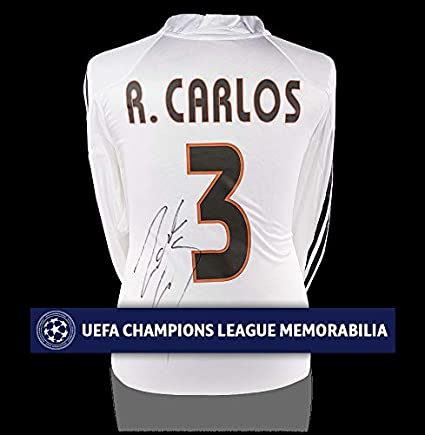 finest selection 5fc8d 0ff13 Roberto Carlos Official Uefa Champions League Back ...