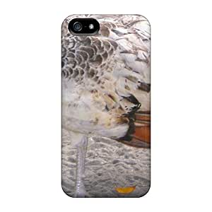 Ultra Slim Fit Hard TinaMacKenzie Cases Covers Specially Made For Iphone 5/5s- Peahen
