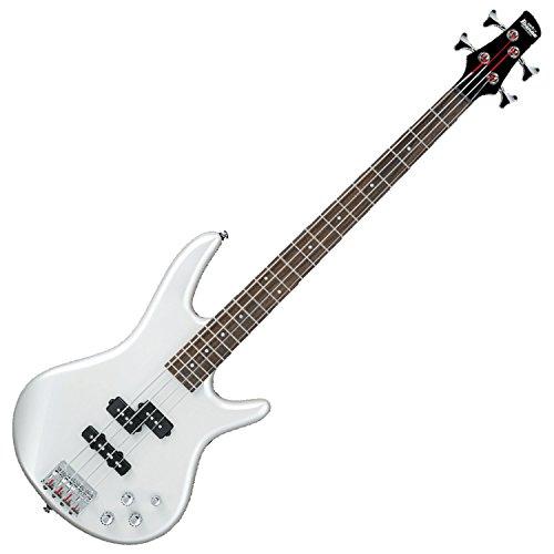 Ibanez GSR200 Electric Bass Guitar, Pearl White (Ibanez Bass String Basses)
