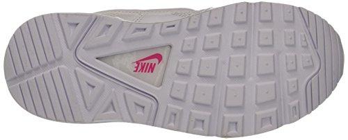 Nike Air Max Command (Ps), Zapatillas de Gimnasia Niñas Bianco (White/White/Dynamic Pink)