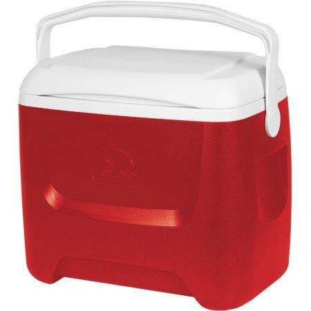 (Igloo 28-Qt Island Breeze Cooler (Red) )