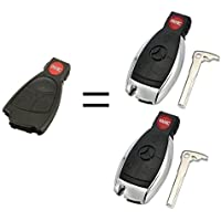 Car Key Fob Keyless Entry Remote fits Mercedes Benz (IYZ3312), Set of 2