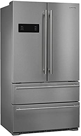 Smeg 36u0026quot; French Door Counter Depth Refrigerator With Automatic Freezer  And Ice Maker,