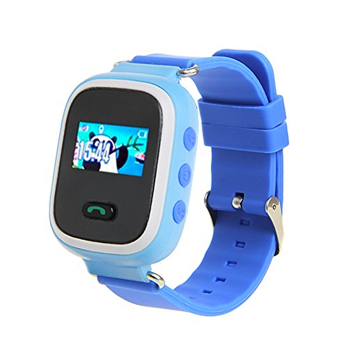 Price comparison product image Wrisky Q60 GPS Anti-lost Tracker SOS Call Children Smart Watch for IOS iPhone 7 Android