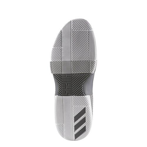 adidas Dame 3 Schuh Männer Basketball Grau weiß
