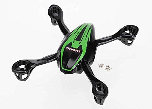 Traxxas-6214-Canopy-UpperLower-Green-wScrews-TRA6214