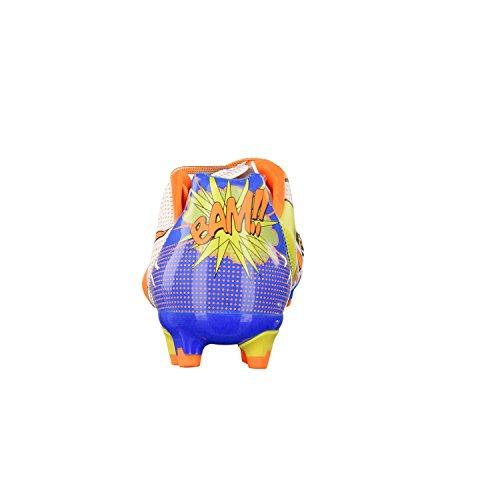 Puma evoPOWER 2.2 POP FG - zapatillas de fútbol de material sintético hombre white-orange clown fish-electric blue