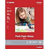 Canon Photo Paper Glossy Letter Size, GP601, 100 Sheets (8649B004)