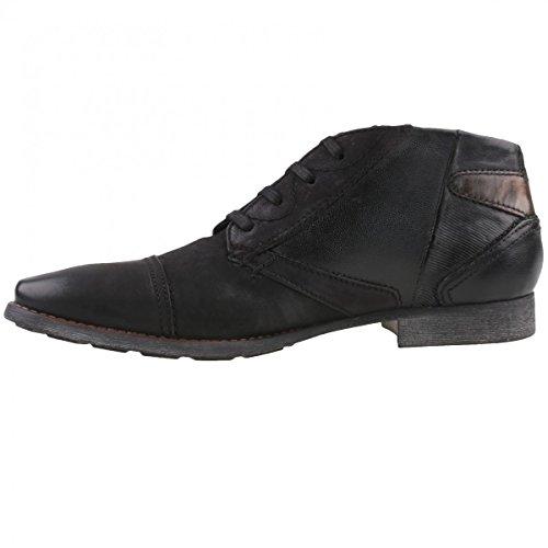 Bugatti 312171014000, Zapatillas de Estar por Casa para Hombre Negro - Schwarz (schwarz 1000)