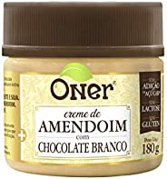 Doce Fit de Amendoim com Chocolate Branco Oner 180g