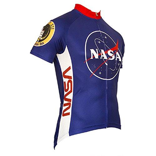Retro NASA Men's Cycling Jersey (Small)