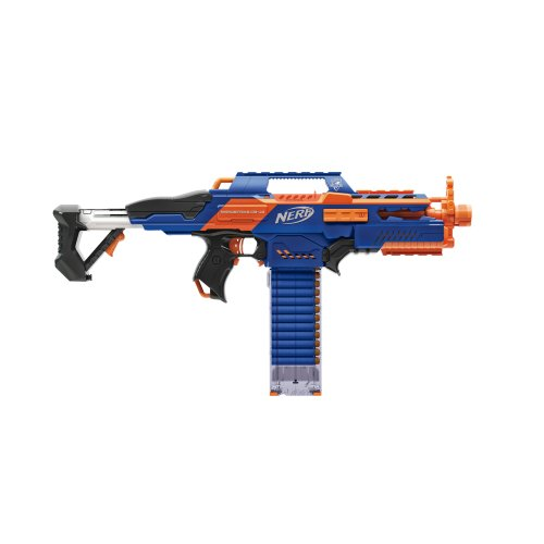 Black Semi Automatic Gun - Nerf CS-18 N-Strike Elite Rapidstrike (Colors may vary)