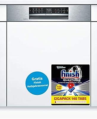 Bosch Serie 6 SMI68TS06E lavavajilla Totalmente integrado 14 ...