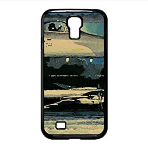Painting F-15 Eagle Watercolor style Cover Samsung Galaxy S4 I9500 Case