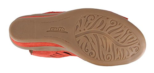 Daylily Women's Sandal Red Earth Wedge wqx015P1nR