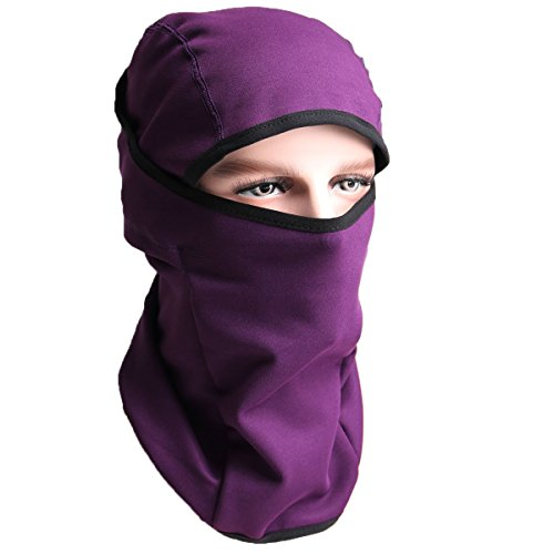 Balaclava Fleece Hood – Windproof Ski Mask- Cold Weather Face Mask Motorcycle Neck Warmer Cycling Helmet Liner Skull Cap Beanie Thermal Scarf Winter for Running Snowboarding Fishing – DiZiSports Store