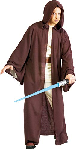 Star Wars Deluxe Hooded Jedi Robe, Brown, One Size -