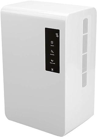 Deshumidificador de Aire, deshumidificador silencioso de 3L Purificador de secador de Aire para sótano de baño ...
