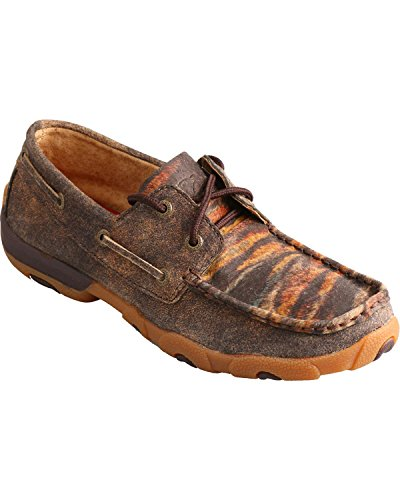 Shoes Casual X Mocs Lace Twisted Women Tiger M WDM0023 5 Distressed 8 gBRxE