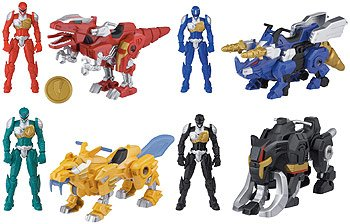Power Rangers Dino Charge Legendary Zord Set (Mighty Morphin Power Rangers Zords)