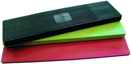 Abstandshalter//Verglasungsklotz aus Kunststoff 100 x 2 x 44 mm, 1000 STK